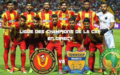 Espérance Tunis-Township en live streaming : CAF 2018
