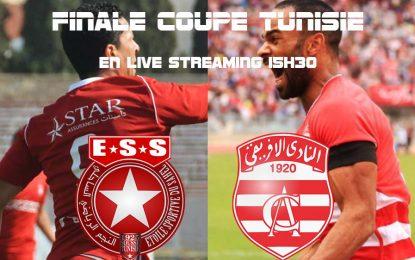 Club africain-Étoile Sahel : live streaming finale Coupe