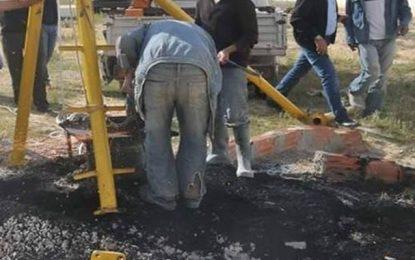 Jelma : La Sonede dénonce la destruction du puits El-Soueybia