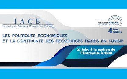 4e Tunisia Economic Forum : Politiques économiques et ressources rares