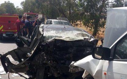 Décès de 5 Algériens dans un accident de la route à Béja