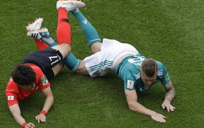 Football: La Corée du Sud élimine l'Allemagne du Mondial 2018
