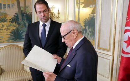 Caïd Essebsi rejette le remaniement ministériel proposé par Chahed