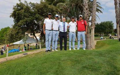 Les golfeurs tunisiens aux Jeux méditerranéens de Tarragone