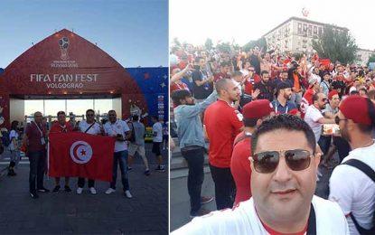 Mondial 2018 : Walid Jalled à Volgograd pour encourager les Aigles
