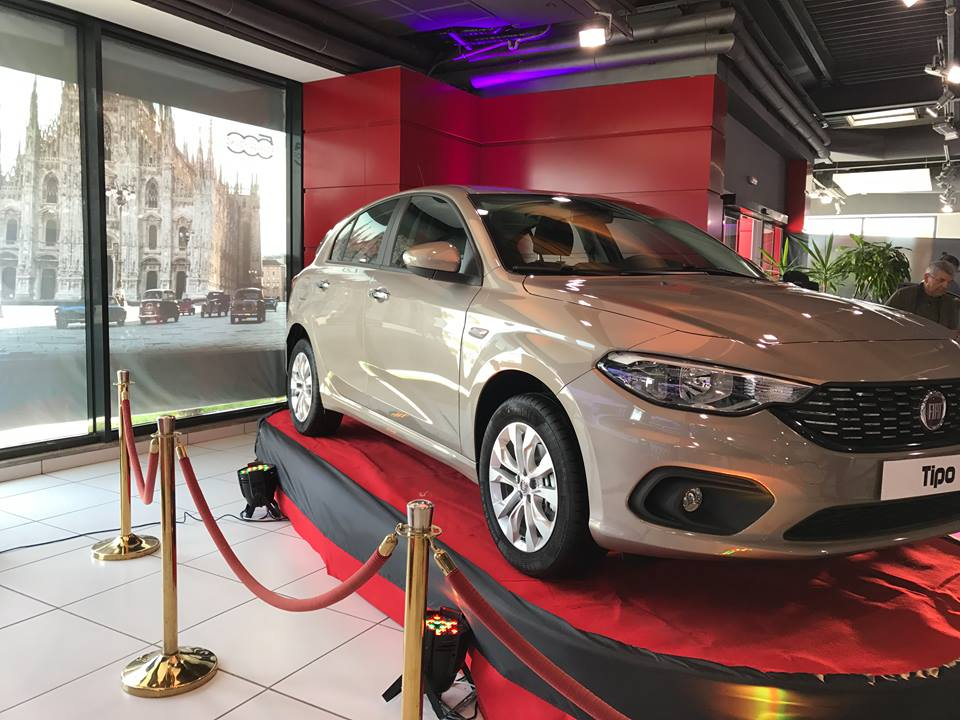 automobile lancement en tunisie de la fiat tipo 5 portes. Black Bedroom Furniture Sets. Home Design Ideas