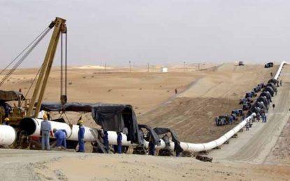 Kasserine : Un gazoduc prend feu à Douleb Skhira