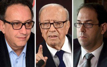 Béji et Hafedh Caïd Essebsi préparent l'assassinat politique de Chahed