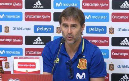 L'entraîneur de l'Espagne viré après son match contre la Tunisie