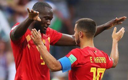 Mondial : Lukaku et Hazard sont la force de frappe de la Belgique