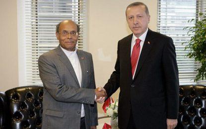 Marzouki se réjouit de la victoire du dictateur Erdogan