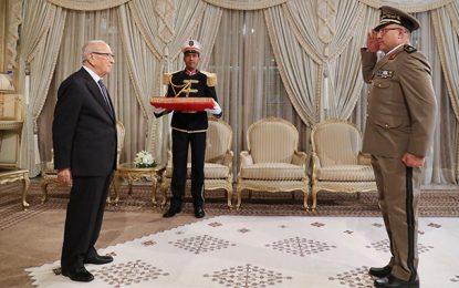Mohamed El Ghoul, nouveau chef d'état major de l'armée de terre