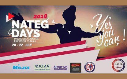 Les 8e Nateg Days du 20 au 22 juillet 2018 à Monastir