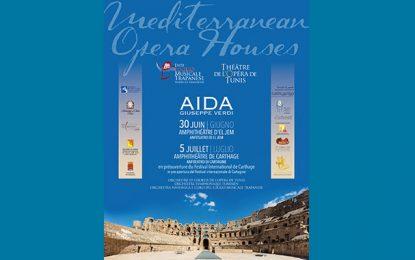 Opéra : ''Aida'' de Verdi aux festivals El-Jem et Carthage