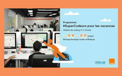 Orange Developer Center et Fablab Solidaire JST lancent #SuperCodeurs 2018