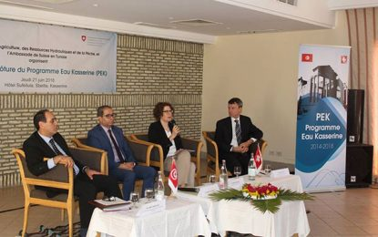 Coopération suisse : 20.000 habitants dotés en eau potable à Kasserine