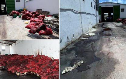 Radès : Saisie de plus de 180 tonnes d'oignons pourris