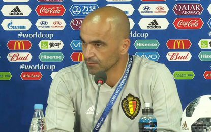 L'entraîneur belge s'attend à «un match intense contre la Tunisie»