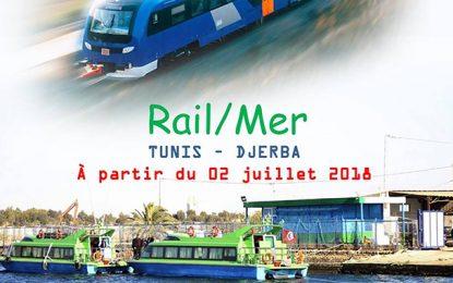 Nouvelle ligne ferroviaire-maritime reliant Tunis à Djerba