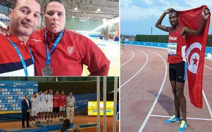 Tarragone 2018 : Les Tunisiens remportent 10 nouvelles médailles