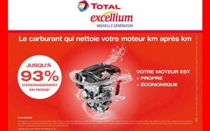 Total Excellium commercialisé en Tunisie à partir du 1er juillet 2018