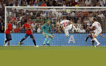 Défaite par l'Espagne 1 à 0, l'équipe de Tunisie avec des regrets