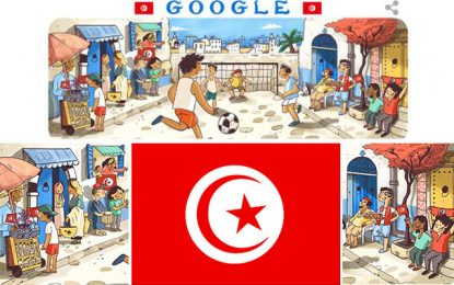 Mondial 20018 : La Tunisie au doodle Google, par Noha Hbaieb