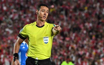 Profil : Wilmar Roldan, arbitre de la rencontre Tunisie-Angleterre