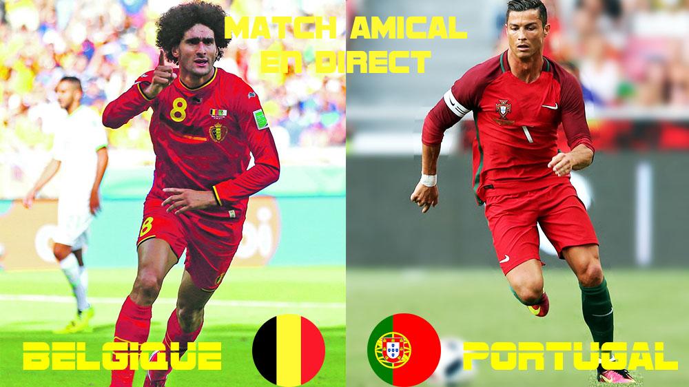 match belgique tunisie streaming
