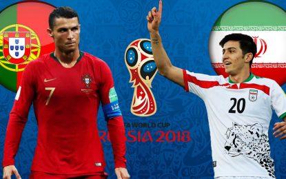 Iran-Portugal streaming live: Coupe du monde 2018