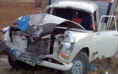 Mahdia : Décès de 3 personnes dans un accident de la route