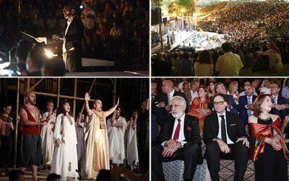 Opéra ''Aïda'' à Carthage : Une soirée de grande facture artistique