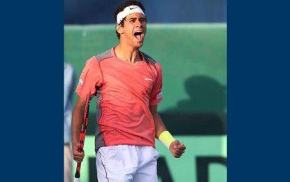 Tennis : Premier titre pro pour le jeune tunisien Aziz Dougaz