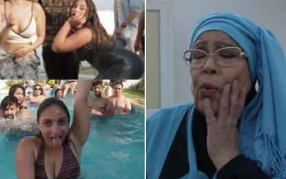 L'actrice Aziza Boulabiar piégée dans un clip jugé vulgaire