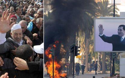 Ben Ali souhaite revenir dans la Tunisie… de Ghannouchi