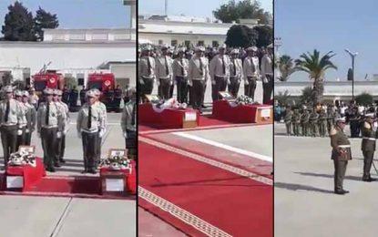 Attaque de Ghardimaou : Cérémonie funèbre des martyrs à Laouina