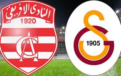 Football : Club Africain-Galatasaray, le 29 juillet à Radès