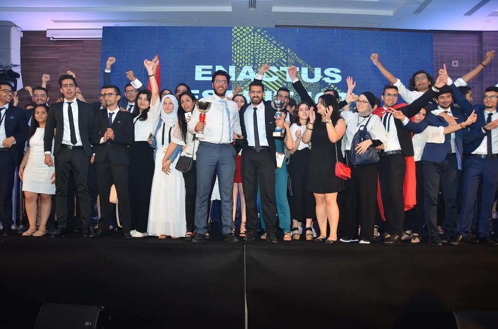 L'école Esprit remporte la compétition nationale d'Enactus Tunisie