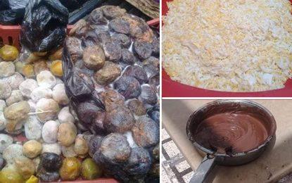 Tunis : Jus et gâteaux à base de fruits pourris à Halfaouine