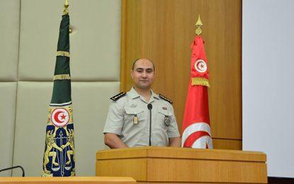 Colonel Jebabli, nouveau porte-parole de la garde nationale