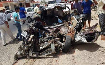Un mort et un blessé grave dans un accident à Gabès