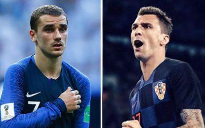 Finale du Mondial : La France pour une 2e étoile, la Croatie pour une 1ère historique
