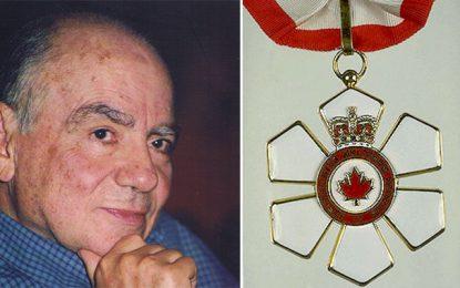 Le Tunisien Hédi Bouraoui au sein de l'Ordre du Canada
