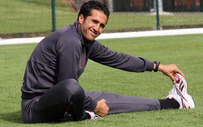 Football : Le gardien Hamdi Kasraoui à Hammam-Lif