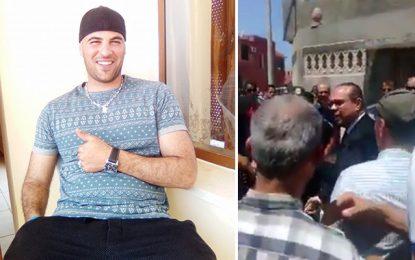 Zarzouna : «Dégage» à Ben Gharbia aux obsèques de l'agent Dallali