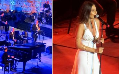 Hiba Tawaji, le charme du Liban s'invite à Carthage