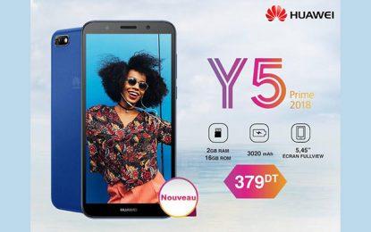 Huawei Tunisie dévoile son nouveau smartphone Y5 Prime 2018