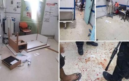 L'hôpital de Kasserine vandalisé après la mort d'un homme poignardé