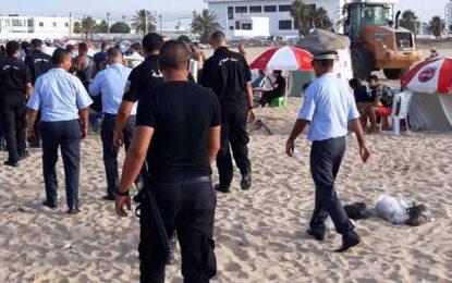 Accrochage à la plage de la Goulette : Arrestation de 4 individus