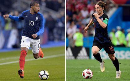France-Croatie : Deux générations pour la finale du Mondial 2018